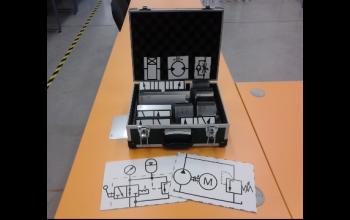 Набор магнитных аппликационных моделей условных графических обозначений устройств гидро-, пневмо- и электроавтоматики