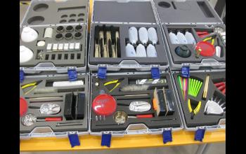 Наборы оборудования для проведения  практических работ по темам: «Литье в песчаные формы», «Литье деталей с внутренней полостью», «Центробежное  литье», «Вакуумное литье»